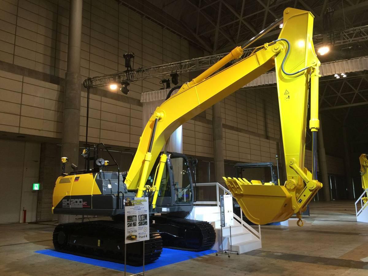 Trimble announces machine control solution for Sumitomo Excavators