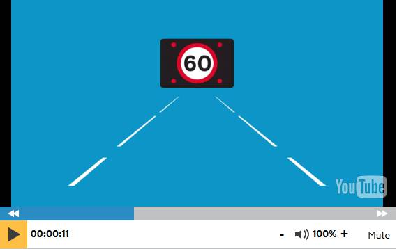 Straightforward information about how to drive on smart motorways is available online