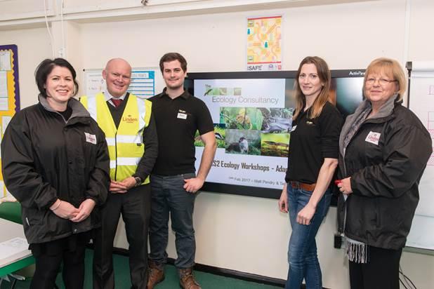 School Ecology Workshops boost engagement for developers