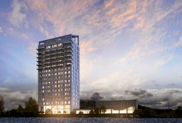 18 storey Mjøsa Tower in Brumunddal, Norway will be the tallest wooden building in the world