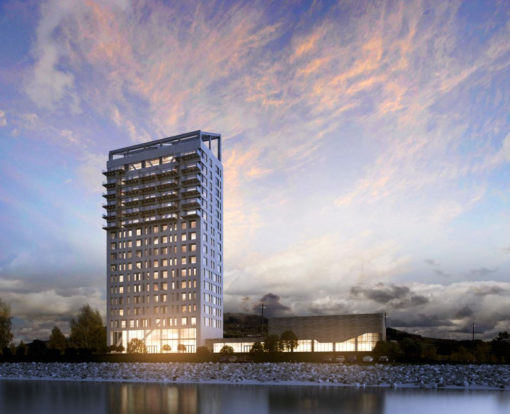 Mjøsa Tower – world's tallest wood building