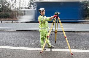Highways England survey work