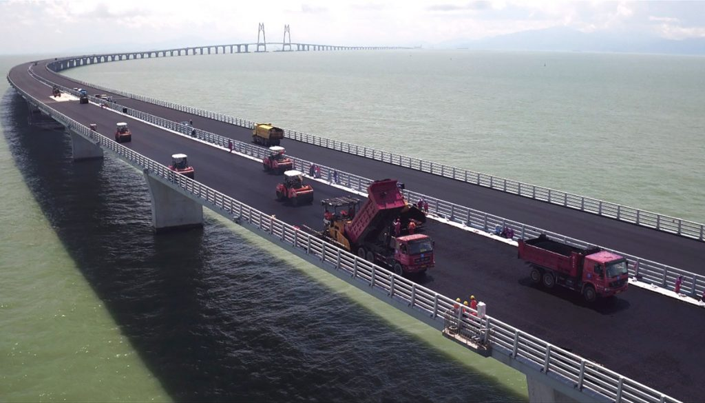 Shell Bitumen solutions and expertise vital for 55km Hong Kong to Macau bridge