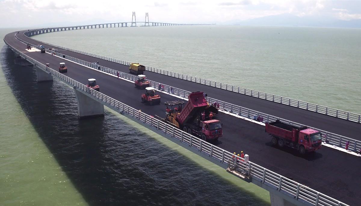 Shell Bitumen solutions and expertise vital for 55km Hong Kong to Macau bridge