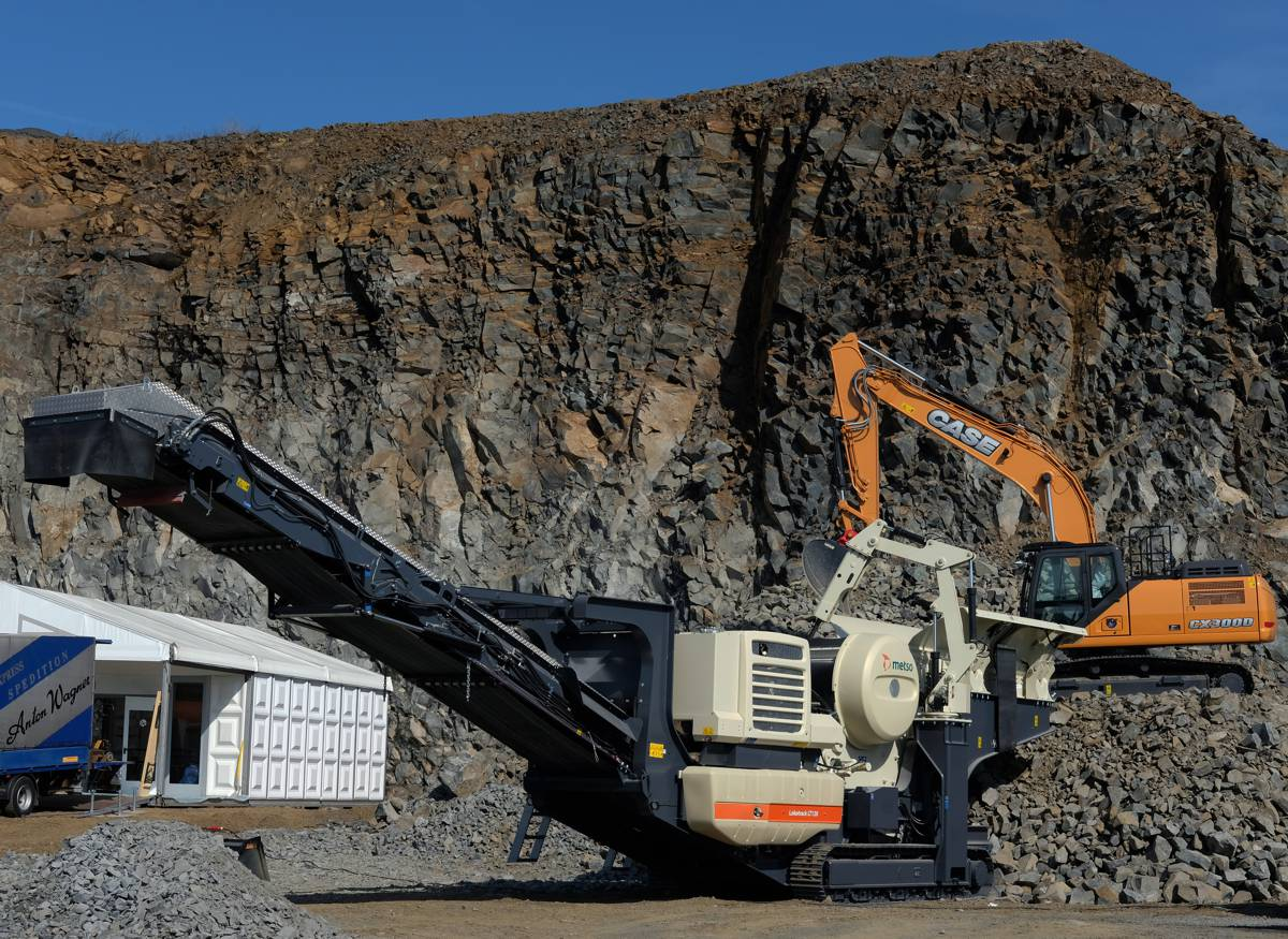 Metso delivers 500th Lokotrack Crusher to Germany for Andres Erdarbeiten at Steinexpo