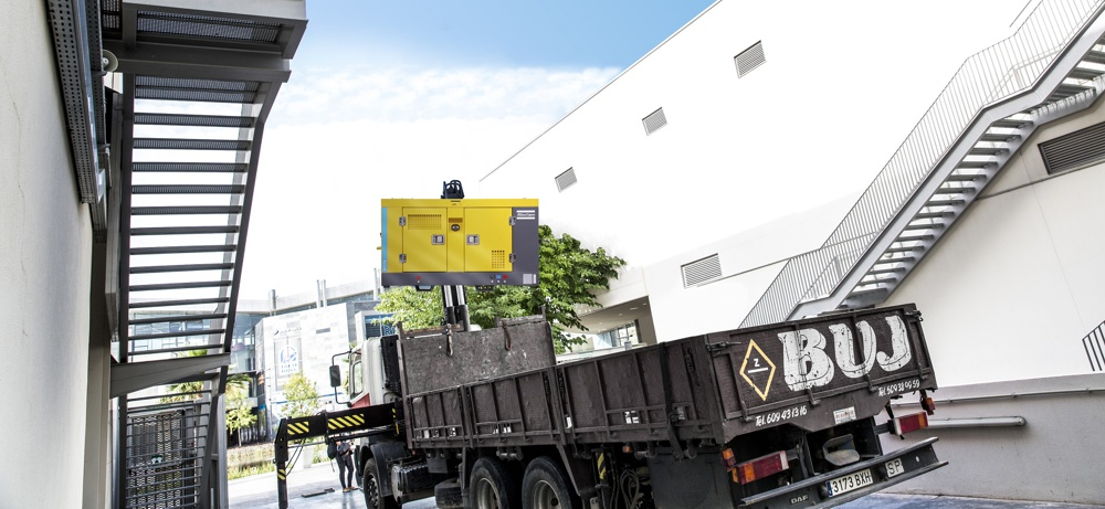 Atlas Copco Launches Compact and Lightweight Mobile Compressors for Utility Trucks