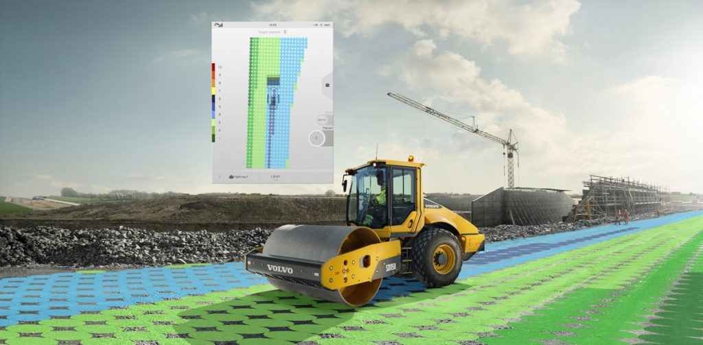 Volvo releases Compact Assist for accurate soil compaction
