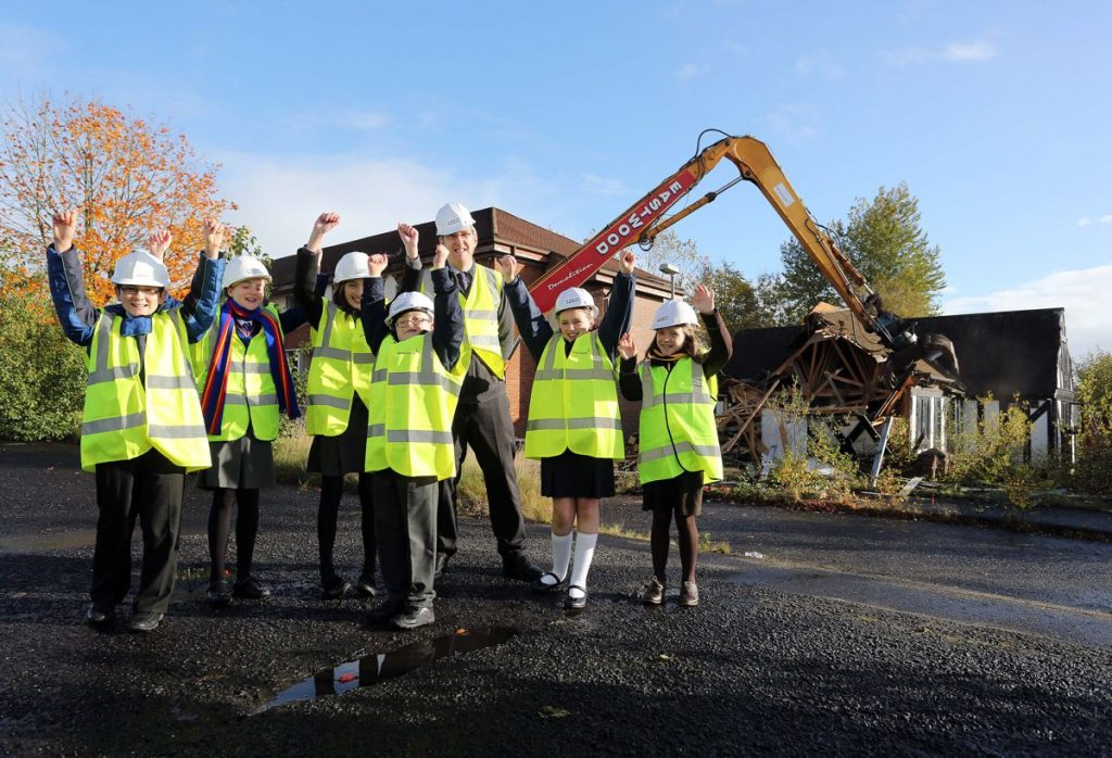 Construction Kids - Photo by Northern Ireland Executive