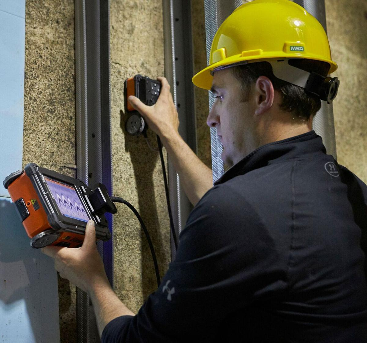 GSSI introduces a handheld all-in-one GPR Concrete Inspection System