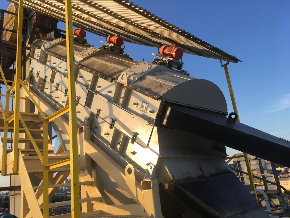 Haver and Boecker introduce vibrating screen for efficient and consistent fines output