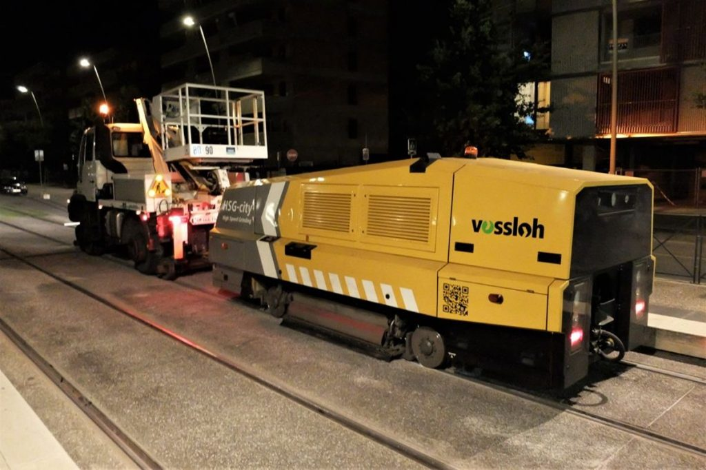 High Speed Grinding Technology deployed in France for the first time