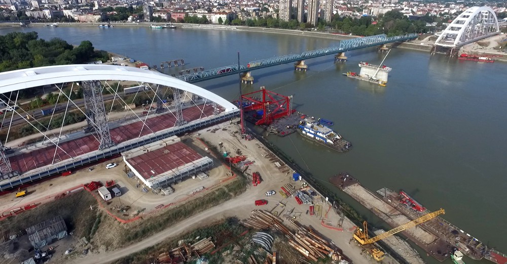 ALE reach first bridge launch milestone in Serbia