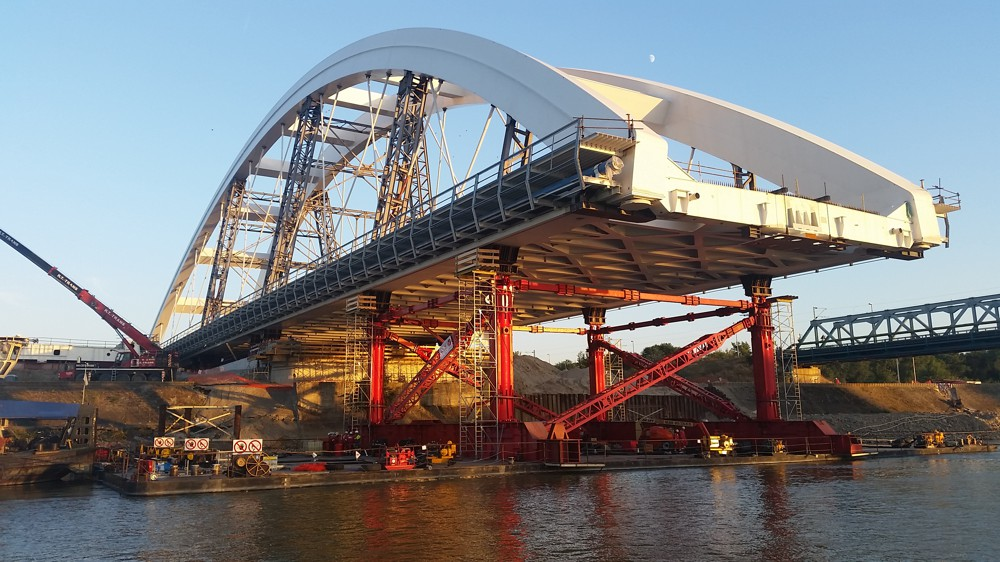 ALE reach first bridge launch milestone in Serbia