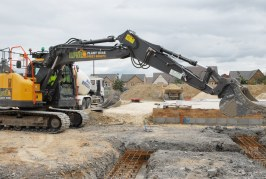 LPM Plant Hire and Sales Ltd steps up a gear with larger Volvo excavators