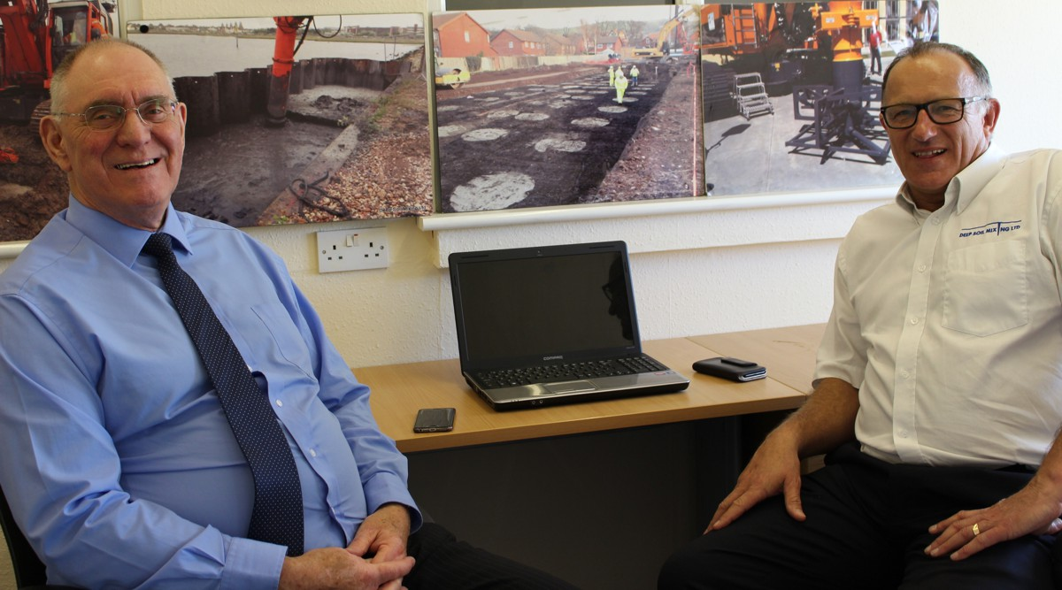 Ground Remediation Contractor Deep Soil Mixing Ltd opens new office in Belfast