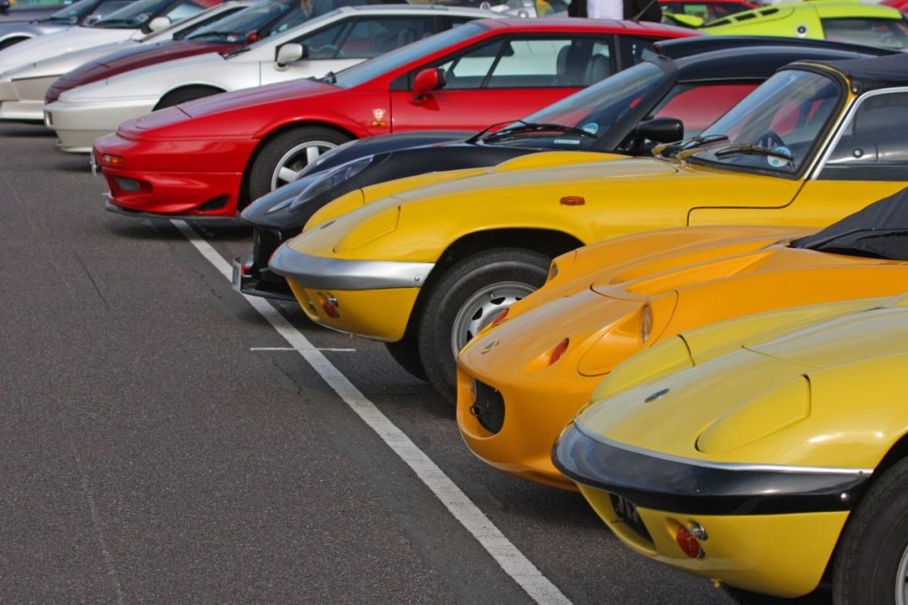 Lotus Car Park - Photo by Brian Snelson