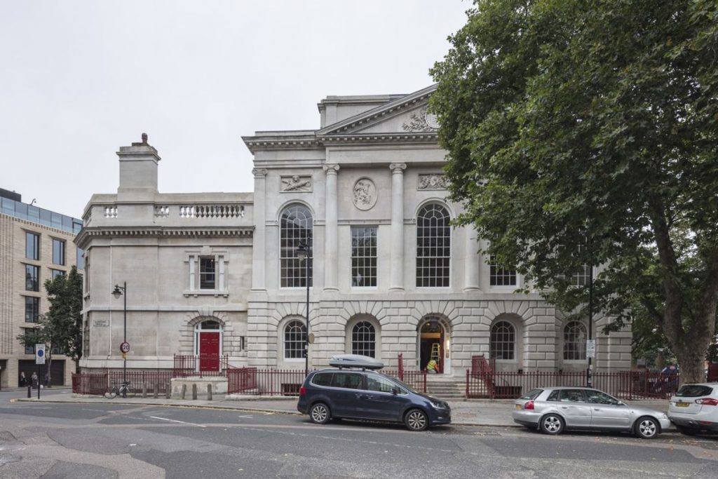 Grand former 18th century courthouse, The Old Sessions House, Clerkenwell has been transformed into one of London's most exciting new meeting places