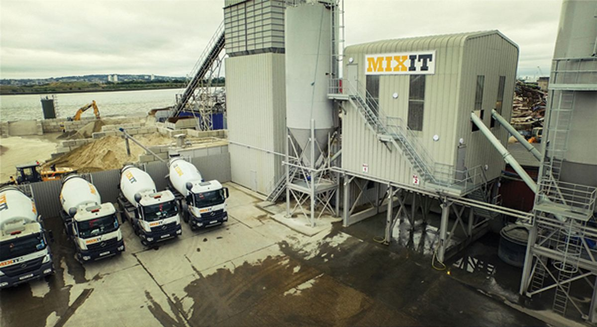 MixIt in London expands with a fifth Rapid pan concrete mixer