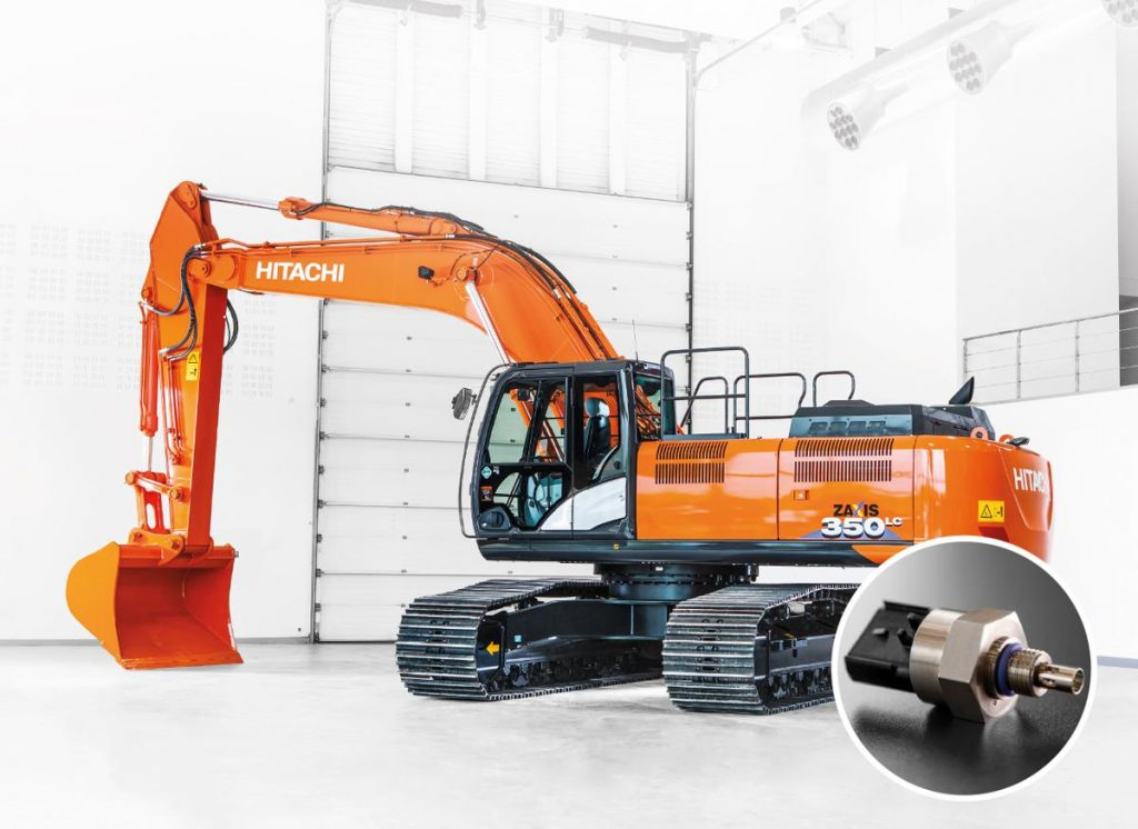 Hitachi has developed an industry-leading innovation as part of its ConSite remote fleet monitoring system. The first of its kind in the construction industry, it extracts data from two unique sensors that monitor the quality of an excavator's engine and hydraulic oil, 24/7.