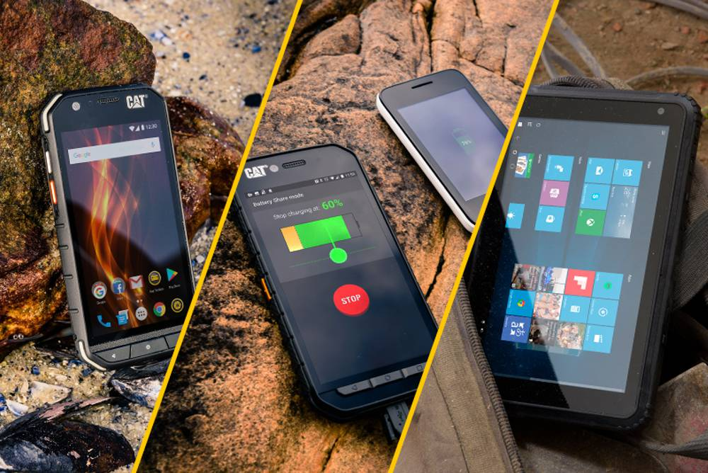 Cat Phones introduces 3 new additions to its range of rugged devices