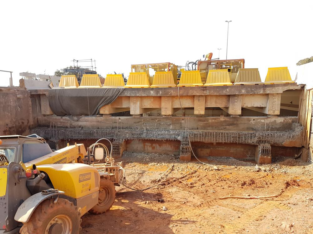 Concrete hydrodemolition technology used in Johannesburg