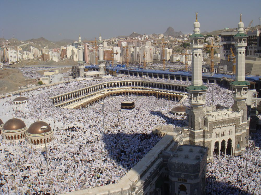 The Kaaba at al-Haram Mosque during the Hajj - Photo by Al Jazeera English