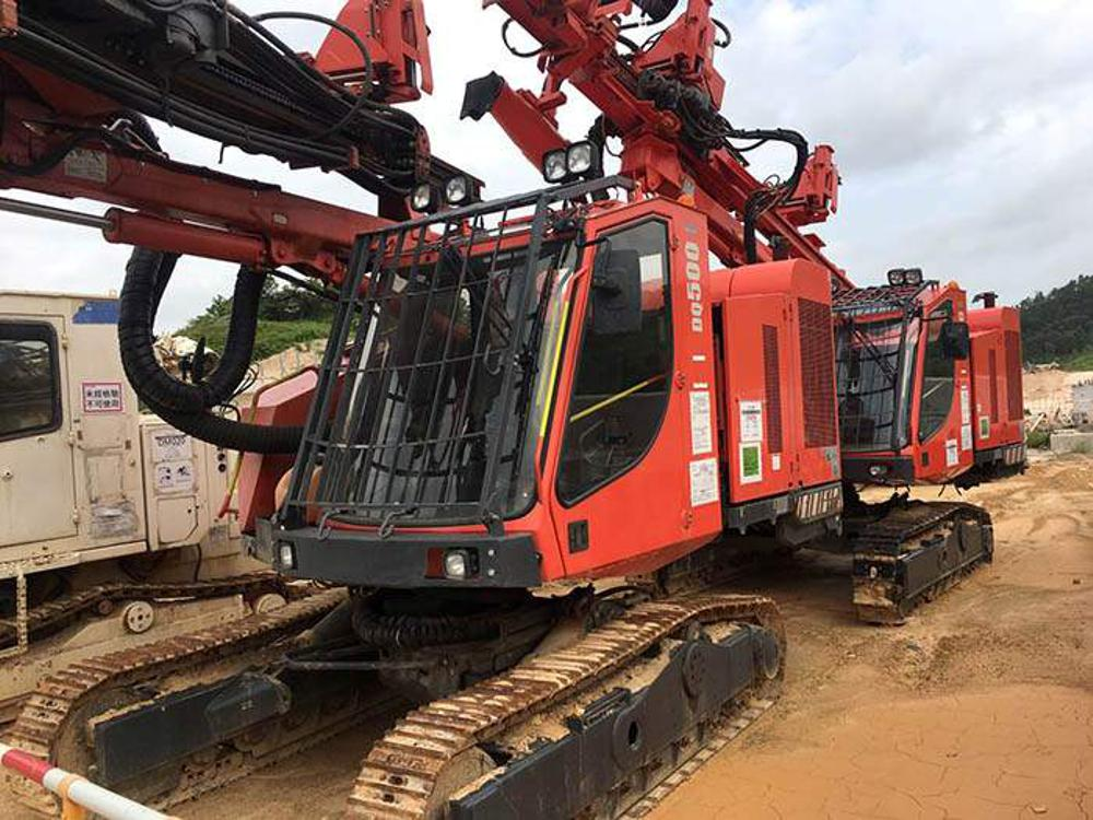 Sandvik essential equipment on major Hong Kong infrastructure development