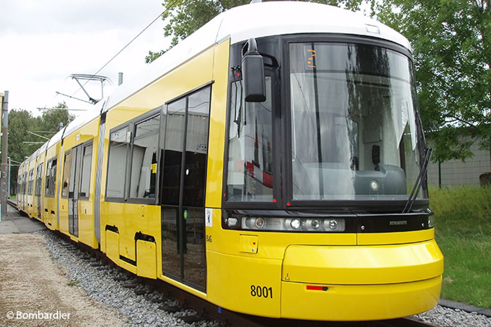 Liebherr, a breath of fresh air for Berlin Transport Authority trams