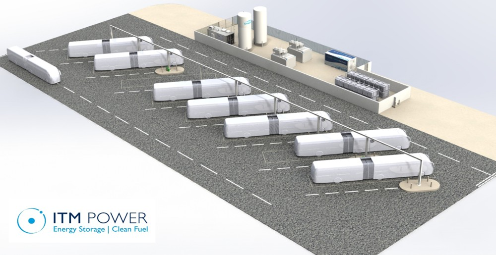 The 10MW Refinery Hydrogen Project with Shell will benefit the first Hydrogen Bus Project in France.