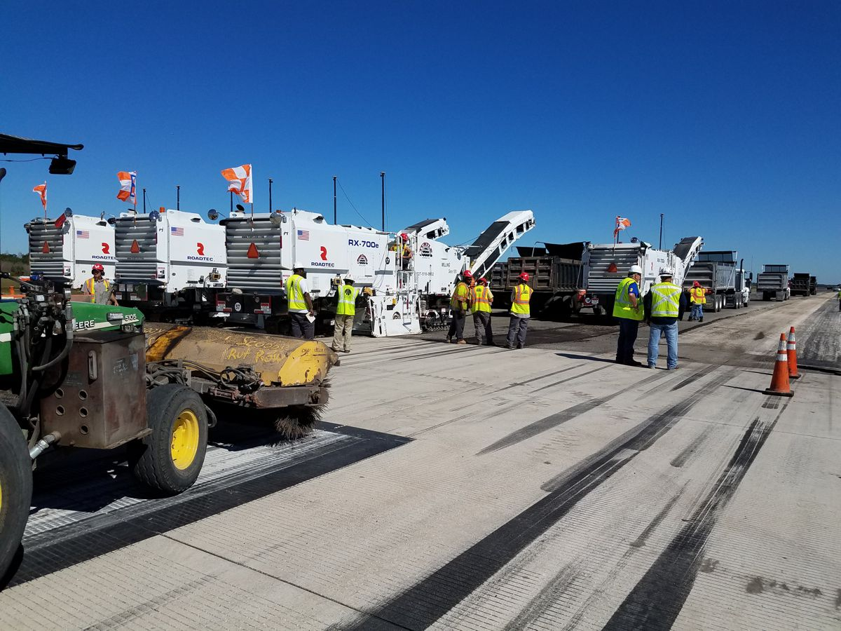 Mission Accomplished - resurfacing McDill Air Force Base Runway