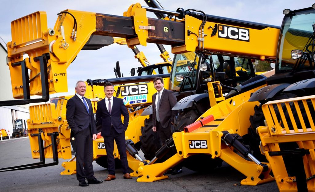 2017 - Nixon Hire buys more than 160 market-leading Loadall telescopic handlers worth almost £9 million
