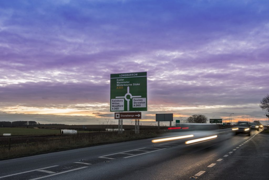 A303 - Photo by Highways England