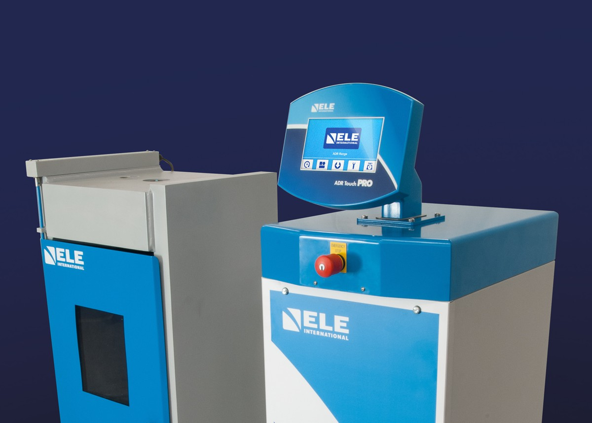 ELE introduce new technology for concrete and cement testing