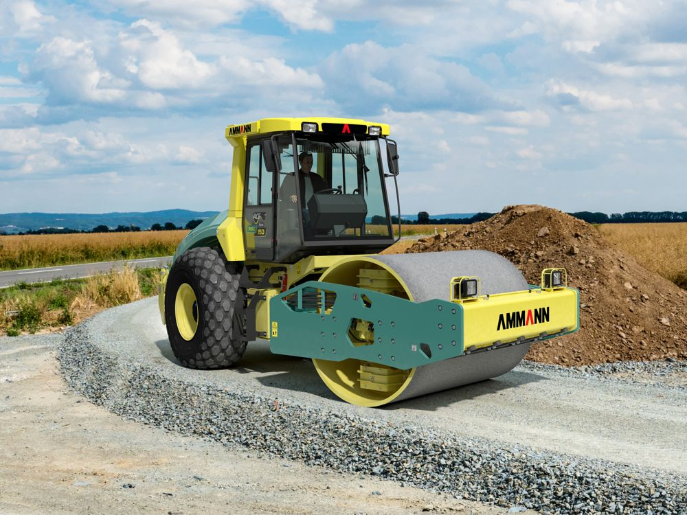 Intelligent compaction key to new Ammann rollers