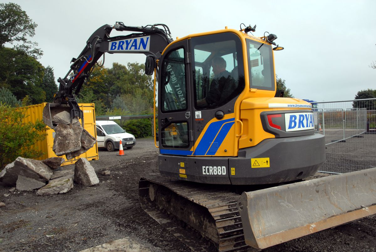 Quality Equipment and top notch after sales support proves a winner for Volvo CE