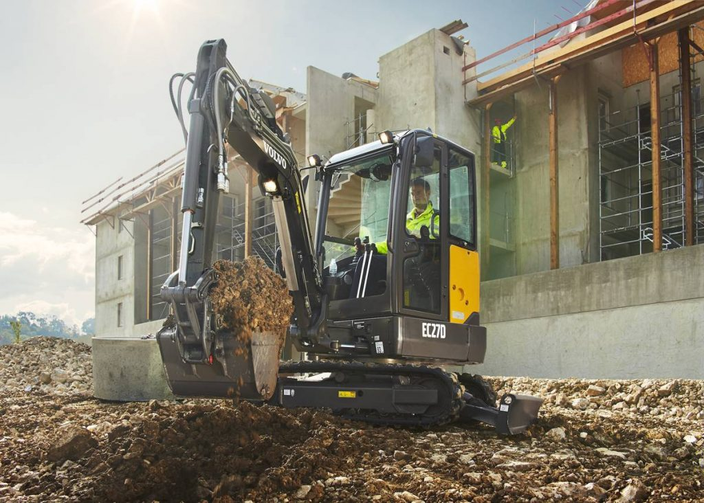 Volvo EC27D makes its North American debut at ICUEE 2017