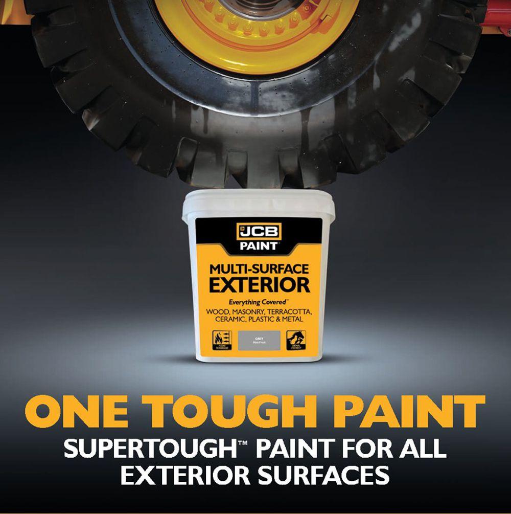 JCB releases Supertough - Supersafe - Superversatile JCB Paint