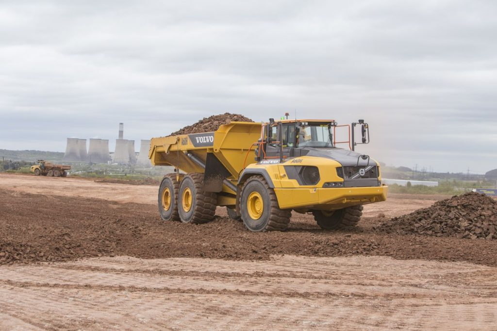 Volvo CE backs high-speed revolution heading north