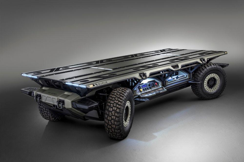GM outlines possibilities for flexible, autonomous Fuel Cell Electric Platform