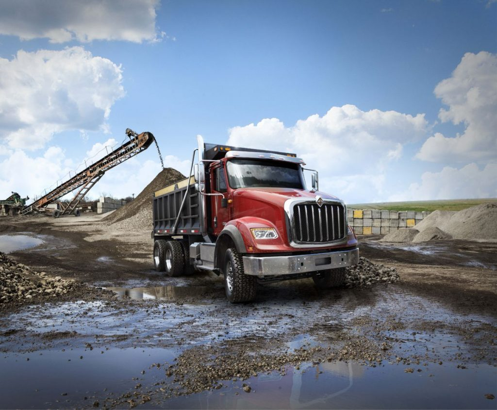 International launches new HV Series Trucks at USA Commercial Vehicle Show