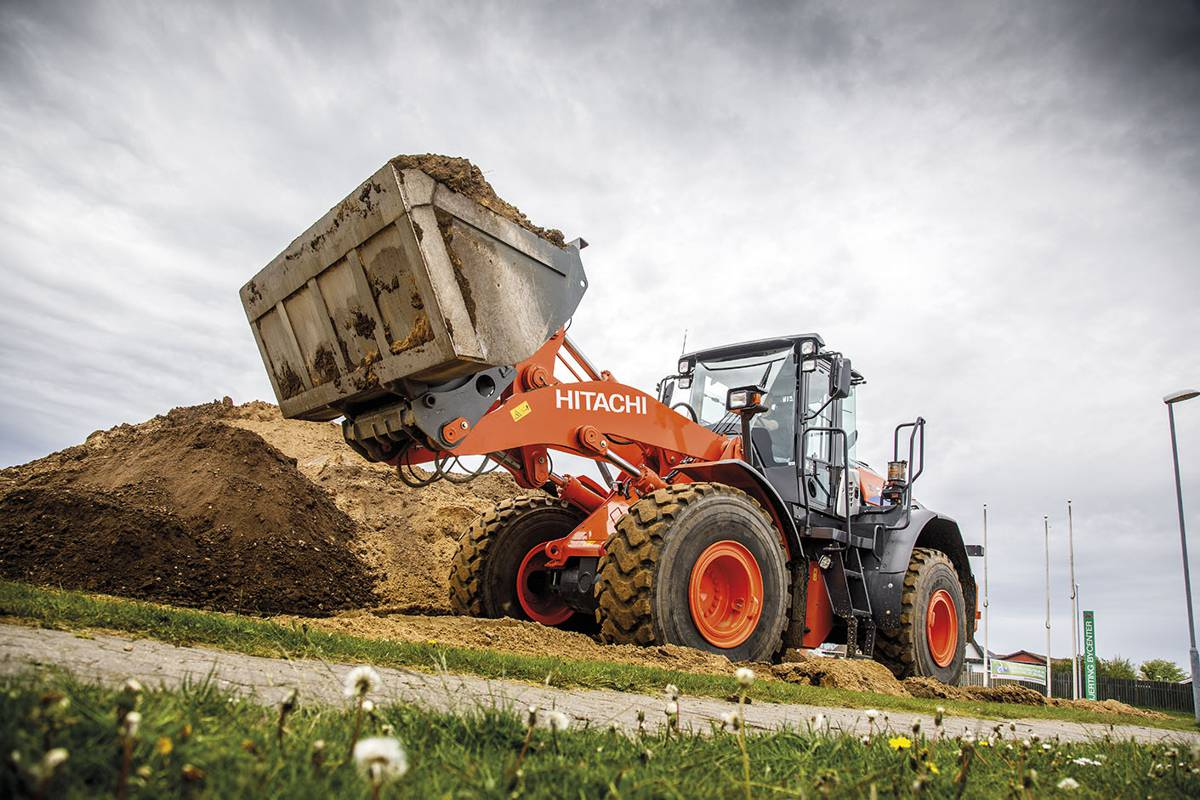 Danish family contractor swears by quality Hitachi Construction Machinery