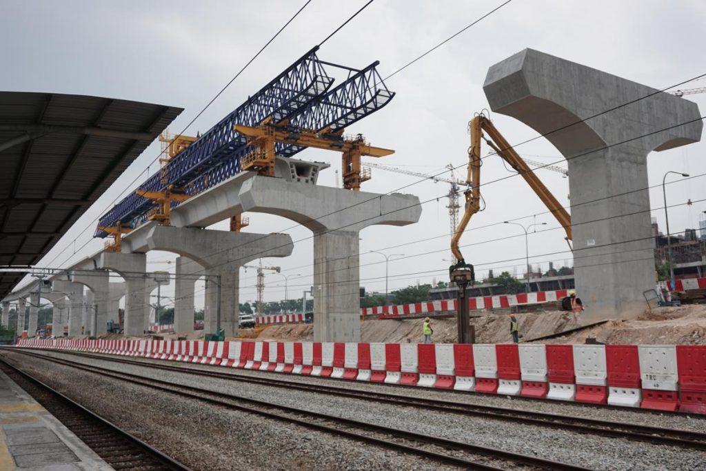 LRT Construction - Photo by Khairil Yusof