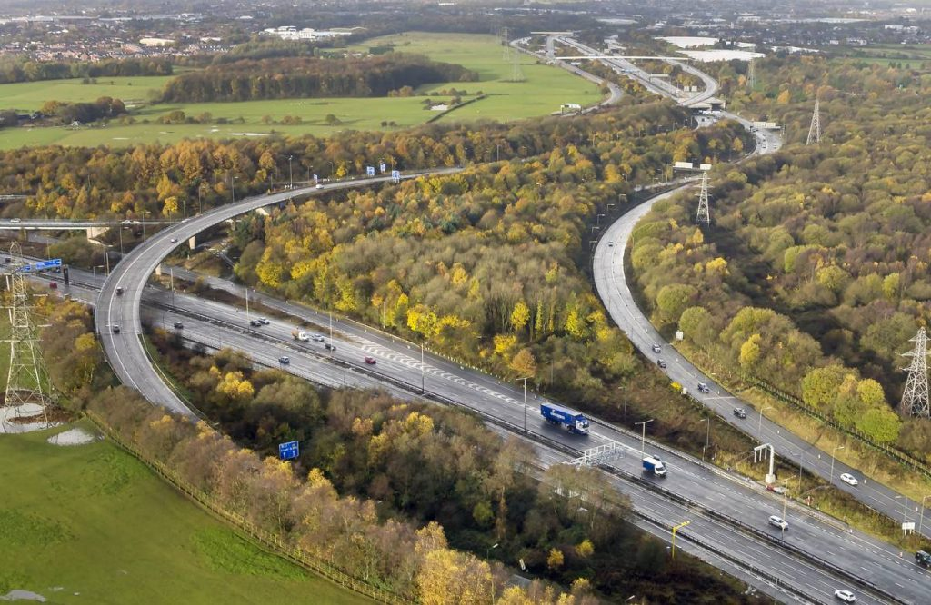 M60 - Photo by Highways England