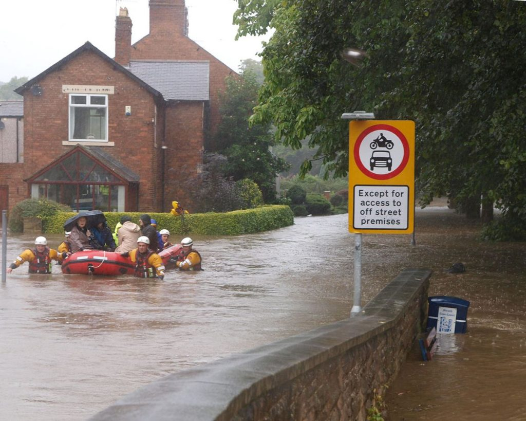 Morpeth Floods - Photo by Johndal