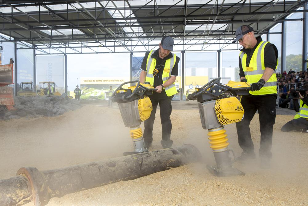 Bomag showcased product portfolio and new technologies at Innovation Days