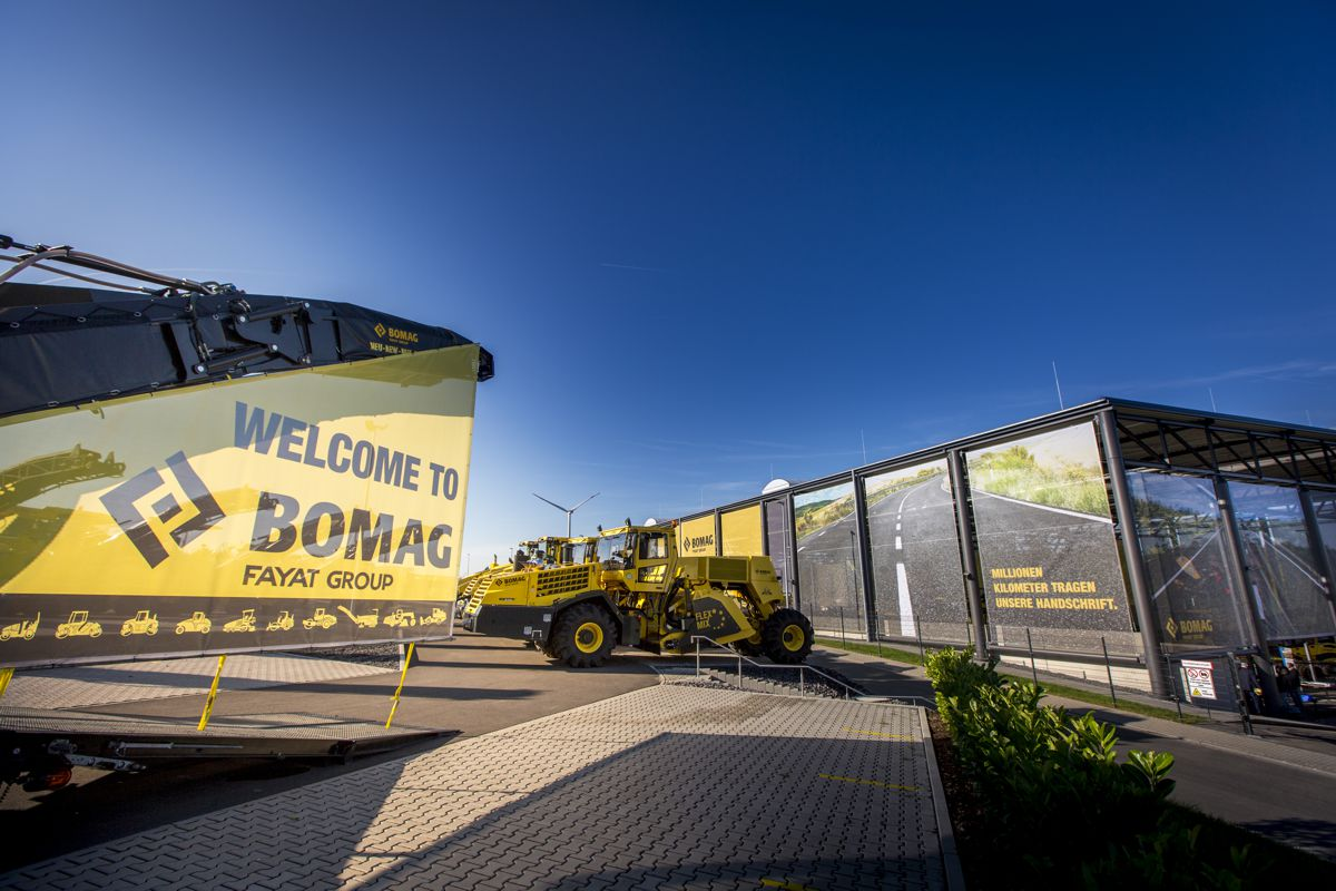Bomag showcased their product portfolio and new technologies at Innovation Days