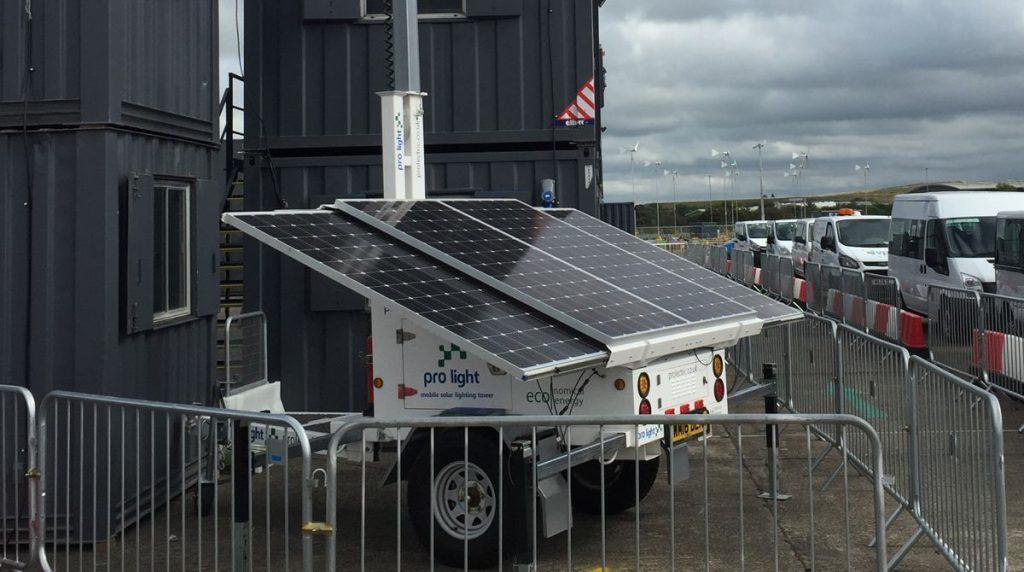 Prolectric launches reliable year round Mobile Solar Lighting