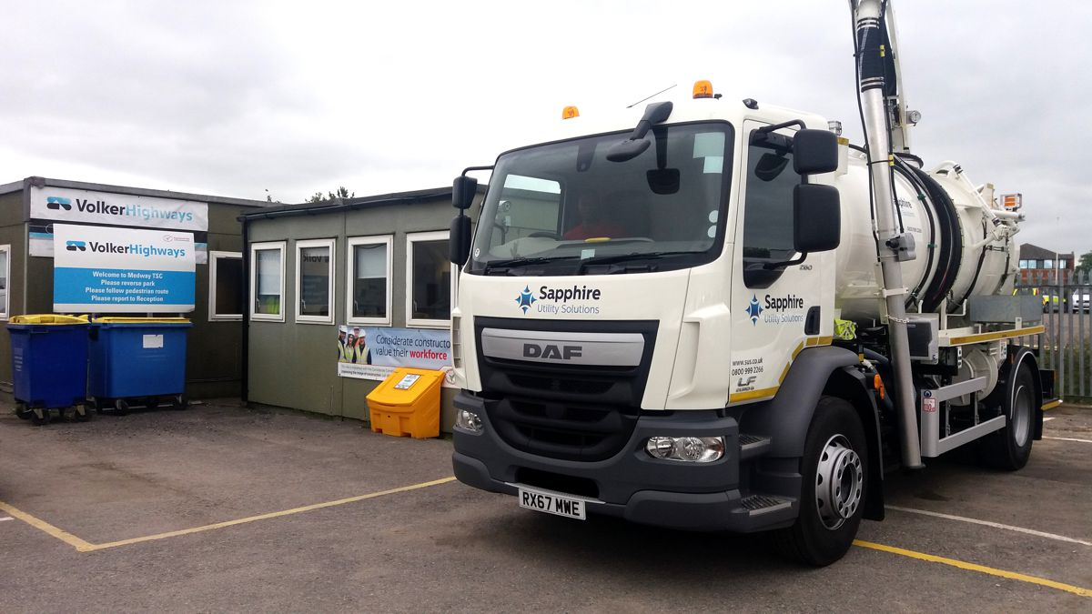 Sapphire wins contract for Medway region drainage in UK