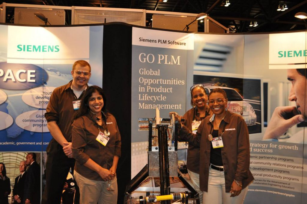 Siemens PLM Software Booth - Photo by Siemens