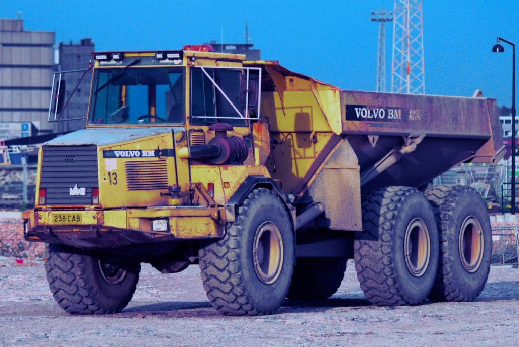 Volvo Mining Truck - Photo by Marko Knuutila